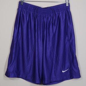Solid Purple Basketball Shorts
